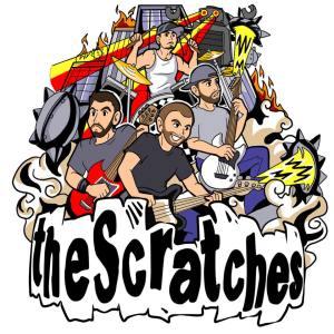 The Scratches Cartoon Press Photo